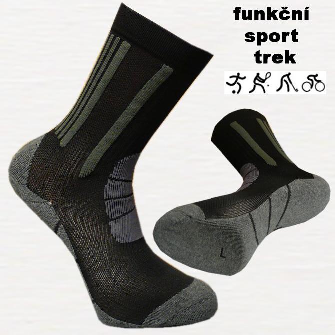 Šedé funkční termo ponožky antibakteriální Assante 72005 velikost 26-28