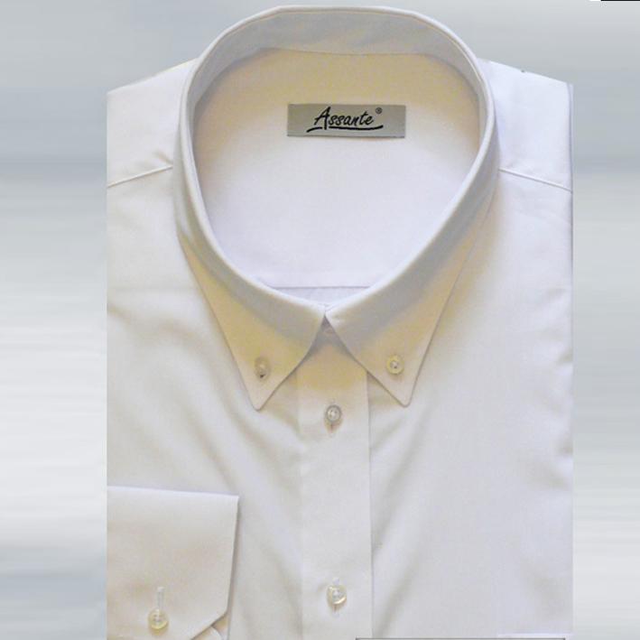 Pánská nadměrná košile bílá Assante 31010