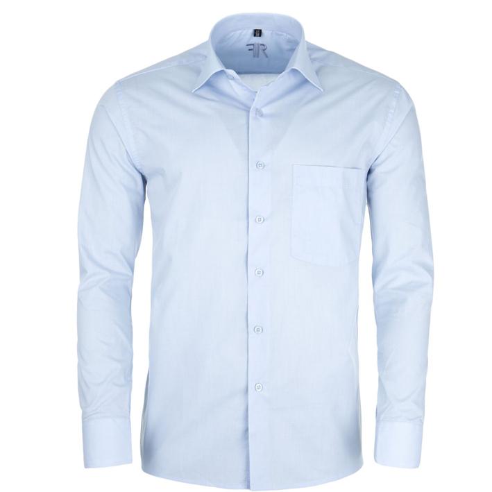 Prodloužená košile modrá pánská Friends and Rebels 20601