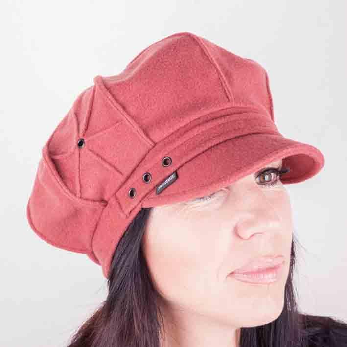 Oranžový klobouk dámský Mes 87140 velikost 56