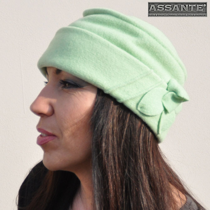 Zelená čepice dámská Anytra 87145