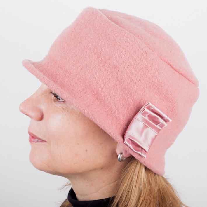 Starorůžový dámský módní klobouk Tonak 87121 velikost Uni