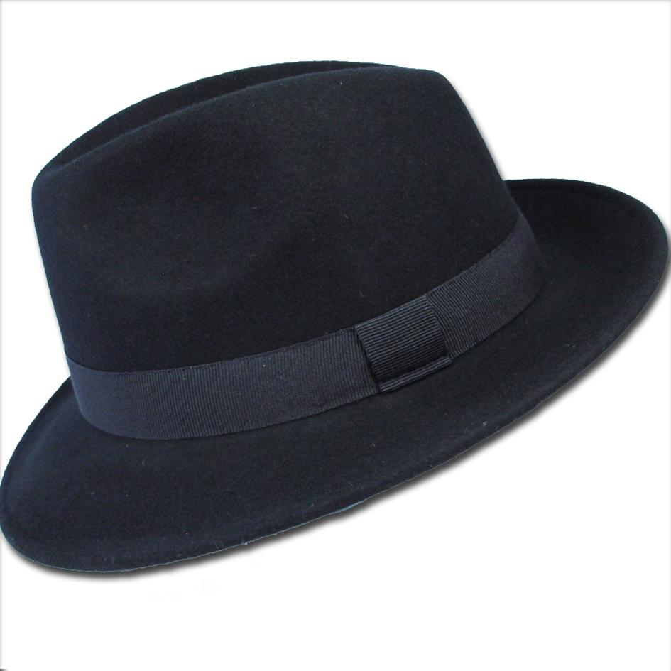 Černý pánský klobouk voděodoný Assante 85006