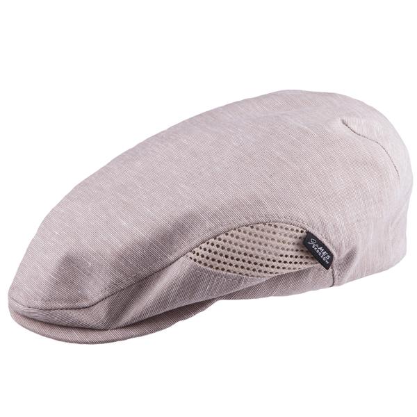 Béžová čepice bekovka Mes 81208 velikost 58