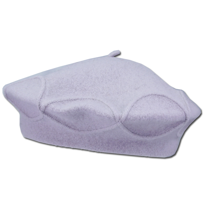 Fialový baret luxusní Tonak 87290