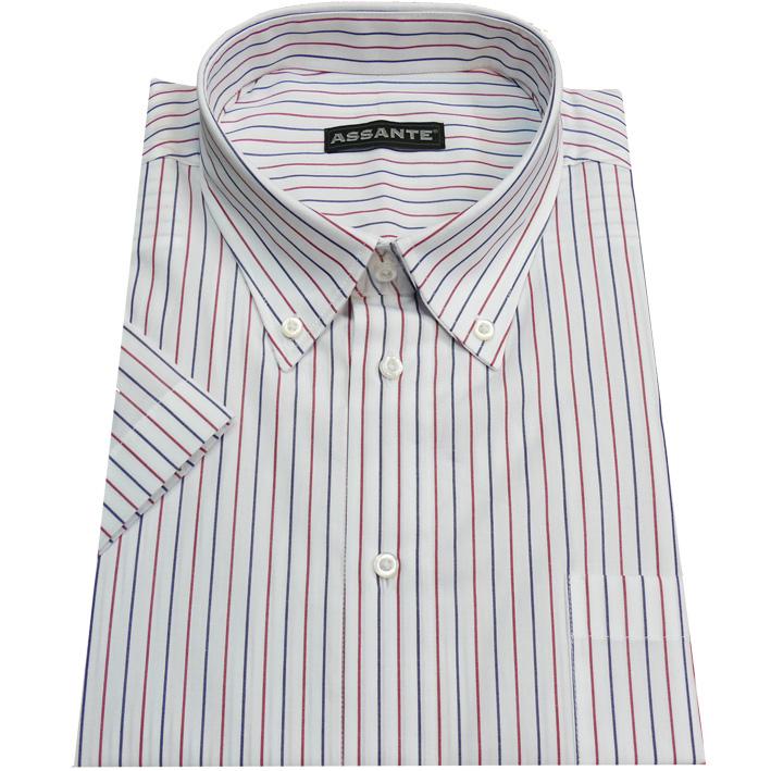 Nadměrná košile bílá 100 % bavlna non iron Assante 41081