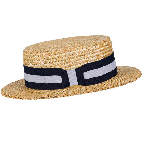 Béžový pánský slaměný klobouk Assante 80018
