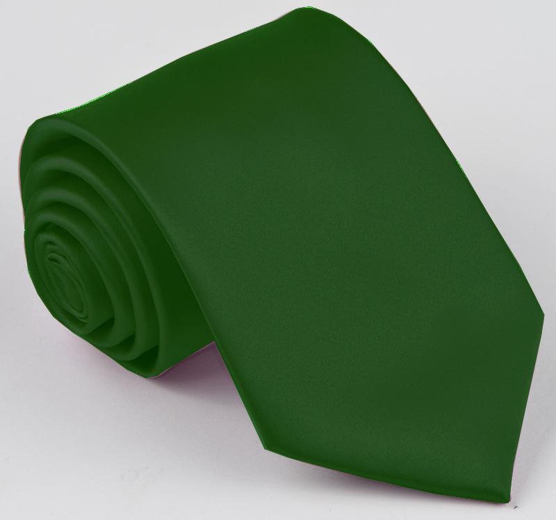Jednobarevná zelená pánská kravata Greg 99999