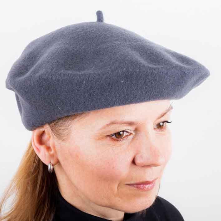 Šedý baret Tonak 87206