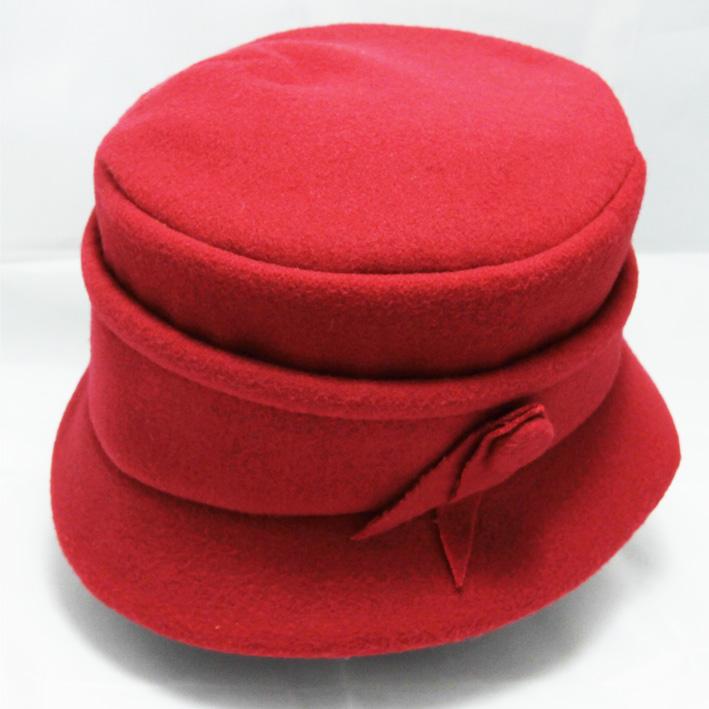 Červený klobouk dámský Mes 87153