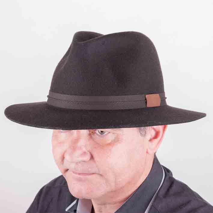 Tnavě šedý pánský klobouk Tonak 85061