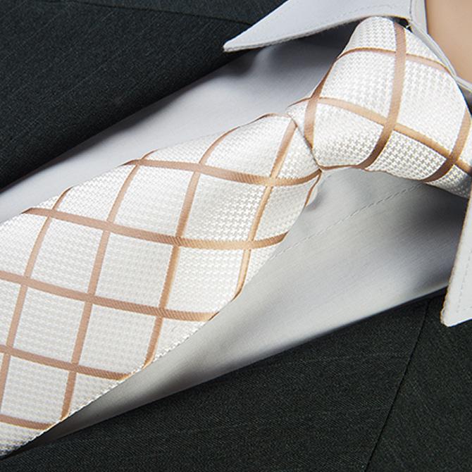 Svatební kravata smetanová Greg 92808