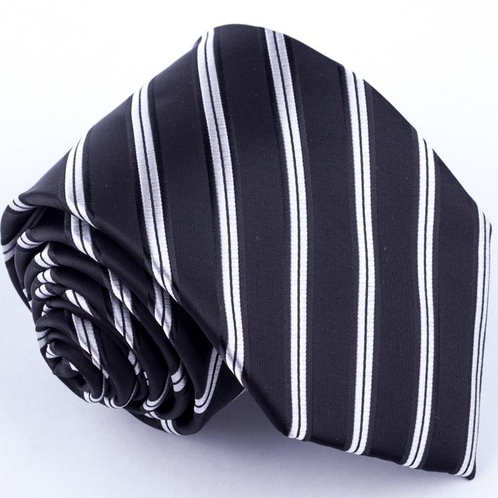 Pánská černá kravata Greg 91012