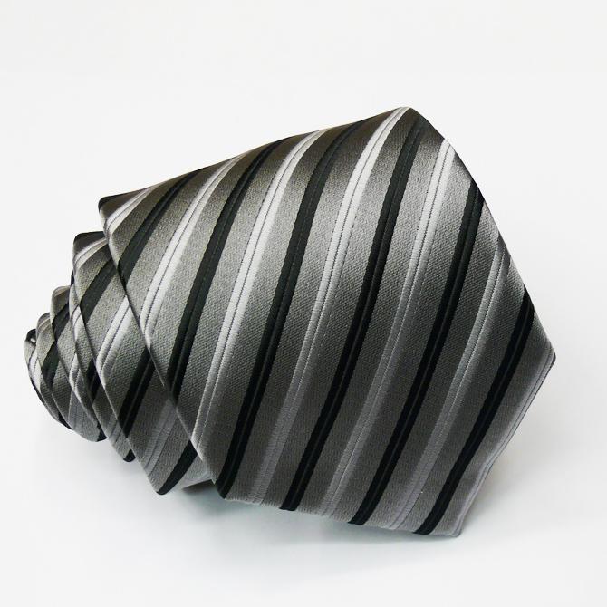 Šedá pánská kravata Greg 91025
