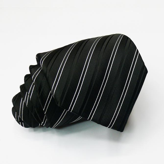 Pánská černá vázanka Greg 91030