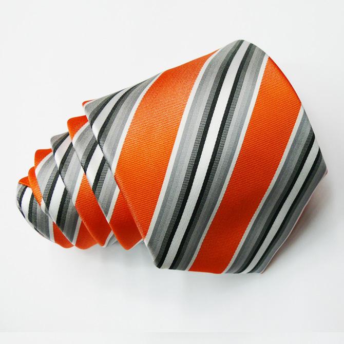 Oranžová kravata Greg 97017