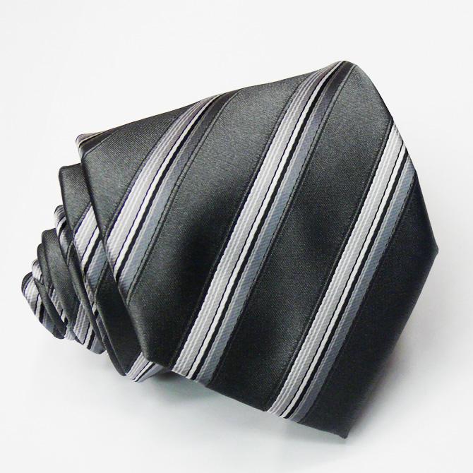 Šedá kravata Greg 91110