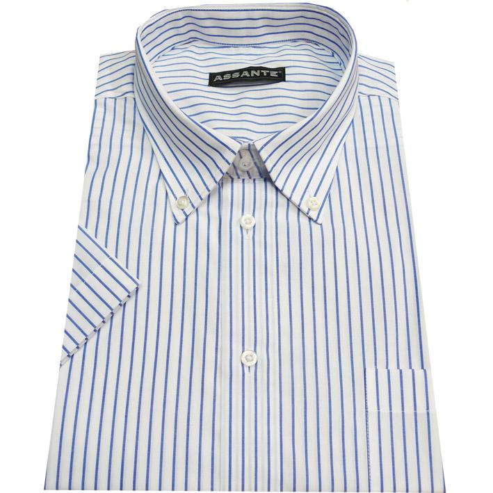 Nadměrná košile bílá 100 % bavlna non iron Assante 41083