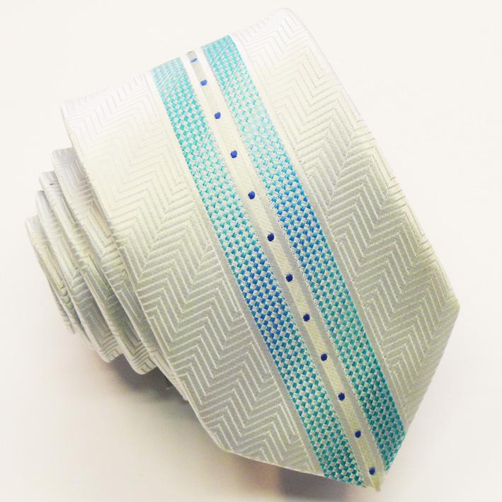 Modrá slim fit kravata Greg 99406