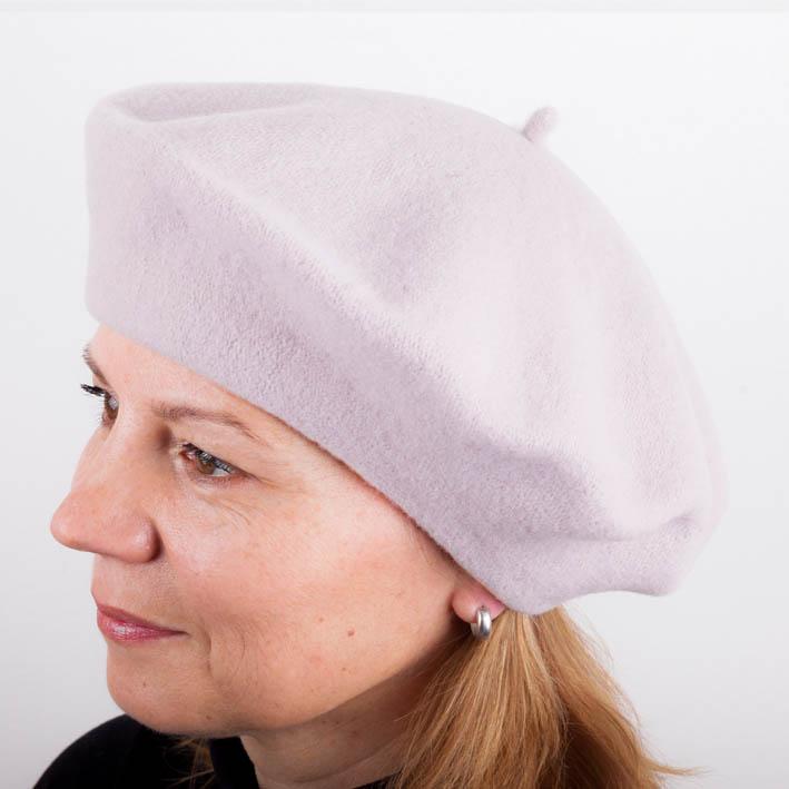 Světle růžový dámský baret elegantní Tonak 87265