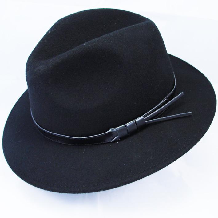 Černý pánský klobouk Anytra 85011