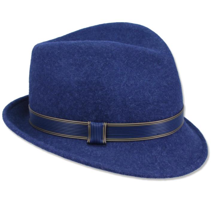 Modrý dámský klobouk Anytra 86925