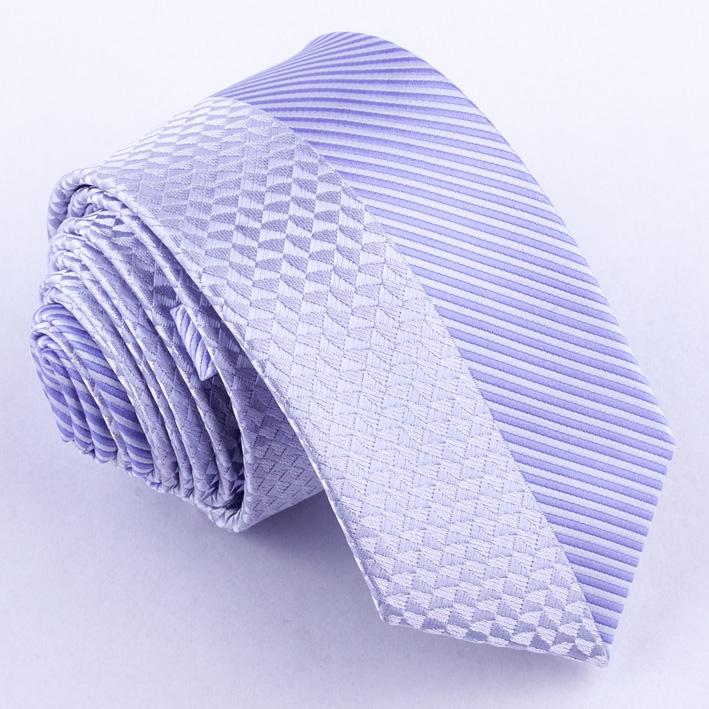 Slim fialová kravata Greg 99619