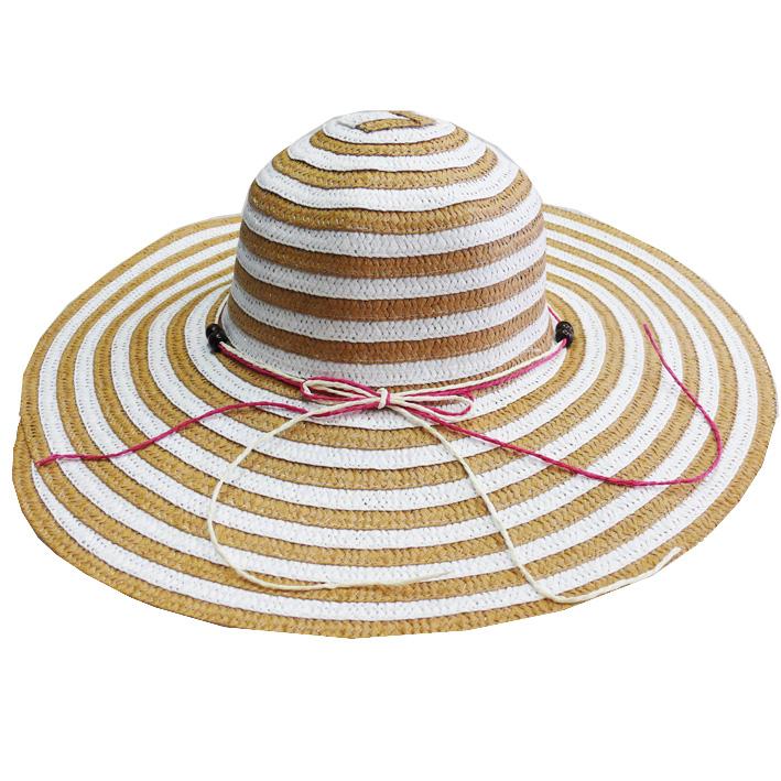 Béžový letní dámský klobouk Assante 82116 velikost 56