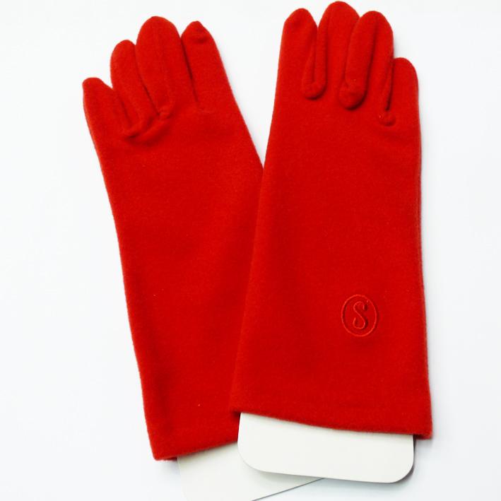 Červené  dámské rukavičky Assante 89726