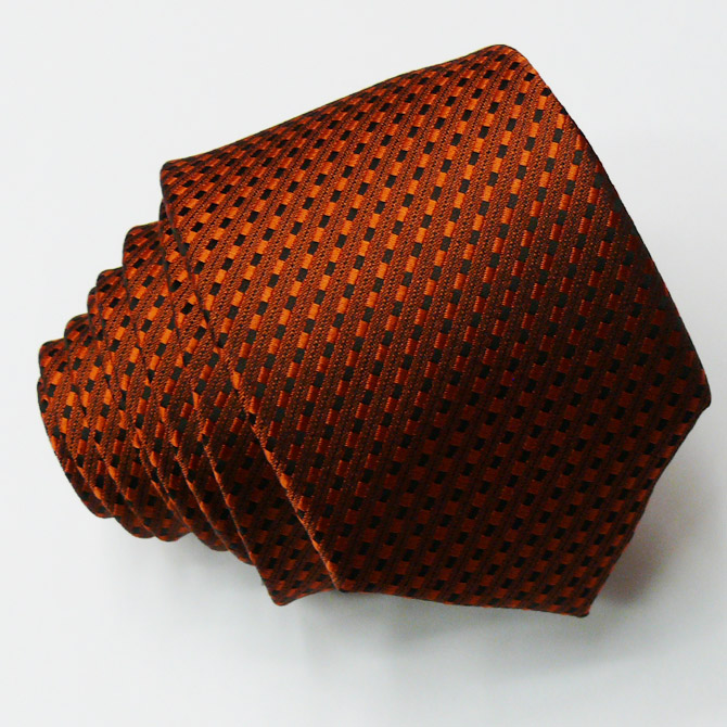 Oranžová slim kravata Greg 99703
