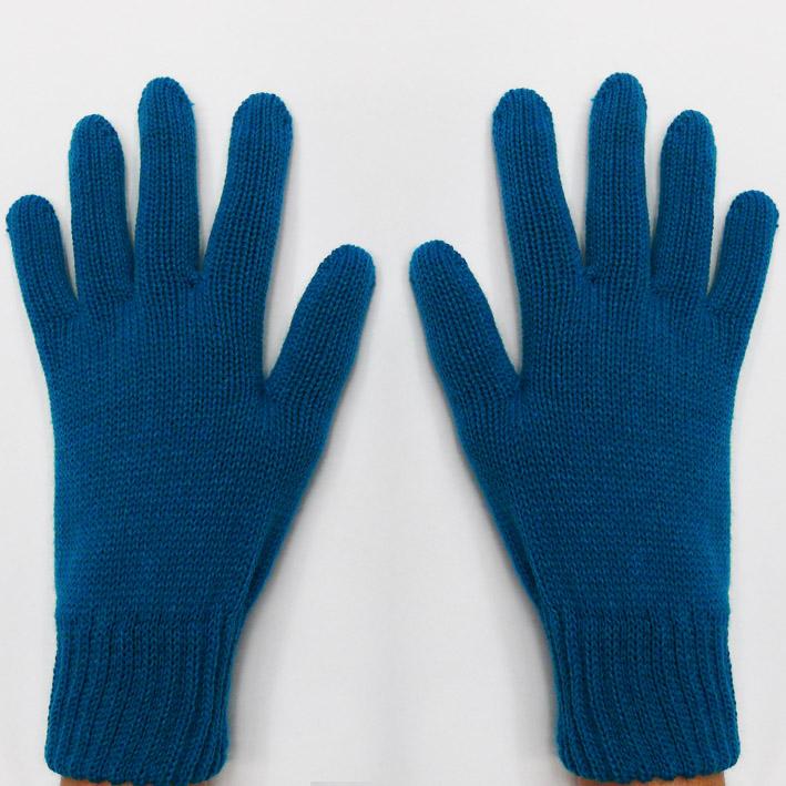 Modré pletené rukavice Assante 89739