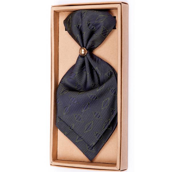 Zelená regata kravata Assante 90695