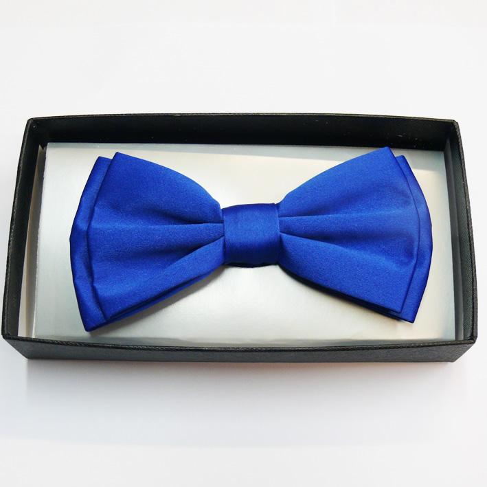 Modrý pánský společenský motýlek Assante 90325