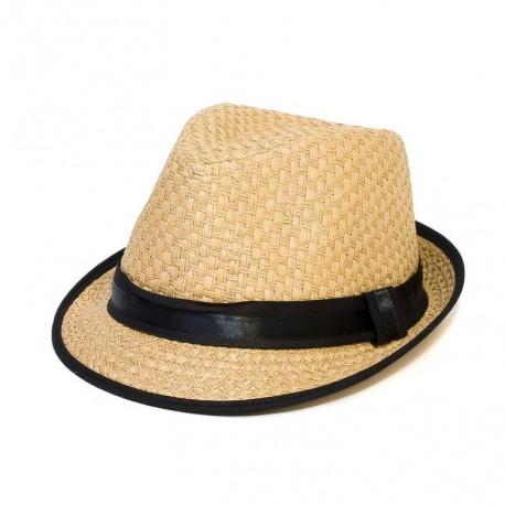 Letní lehký klobouk Giftfree béžový 161055