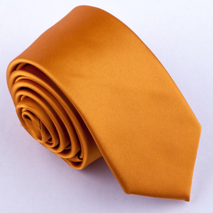 Slim fit hnědá kravata Chagal 99181