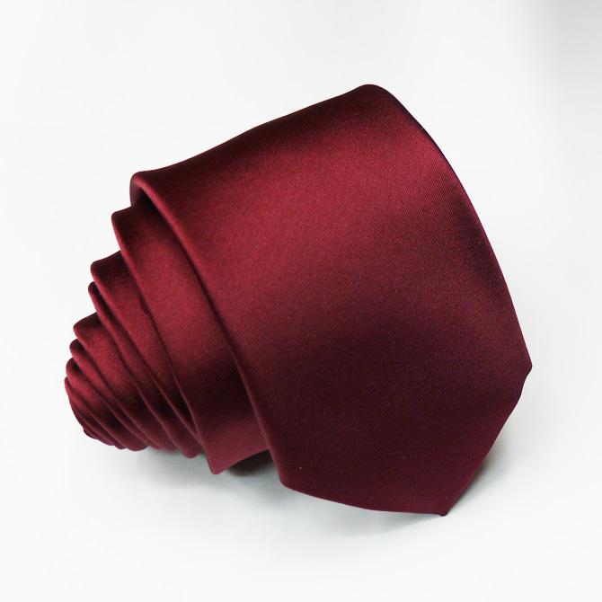 Slim červená kravata Rene Chagal 99131