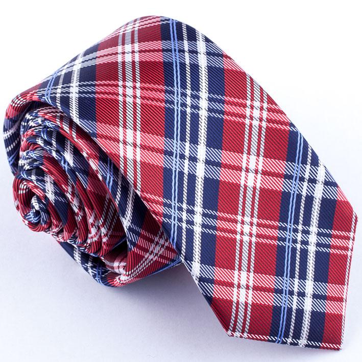 Červená slim fit kravata Greg 99325