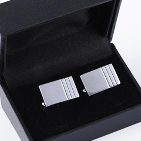 Manžetové knoflíčky stříbrné barvy Assante 90518