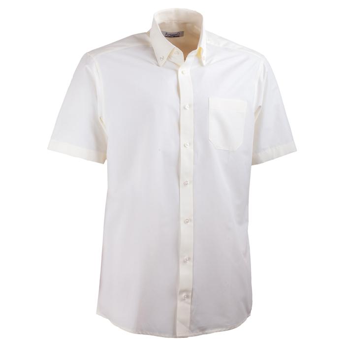 Šampaň pánská košile rovná s krátkým rukávem  Aramgad 40236