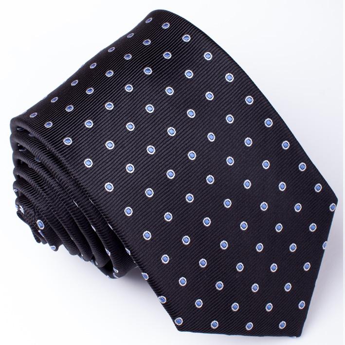 Černá pánská kravata Rene Chagal 91172
