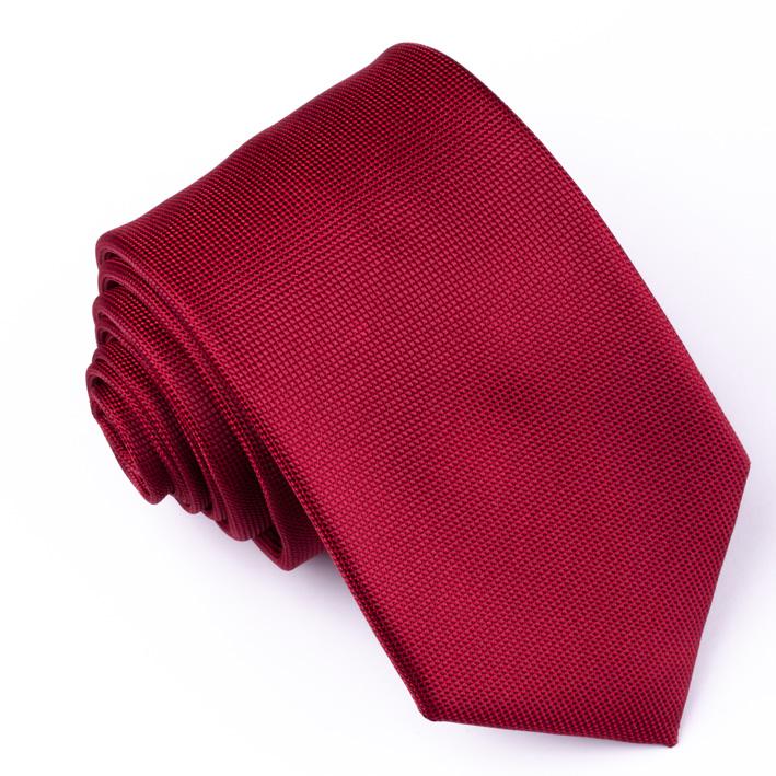 Červená pánská kravata Rene Chagal 93159