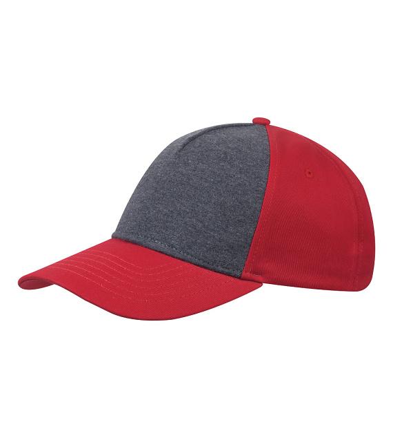 Červená kšiltovka 100 % bavlna Cofee 81142