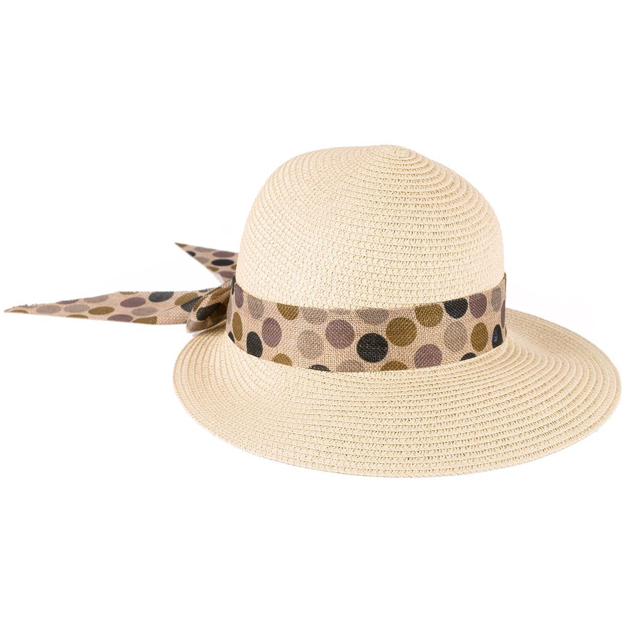Béžový dámský klobouk letní Assante 161203