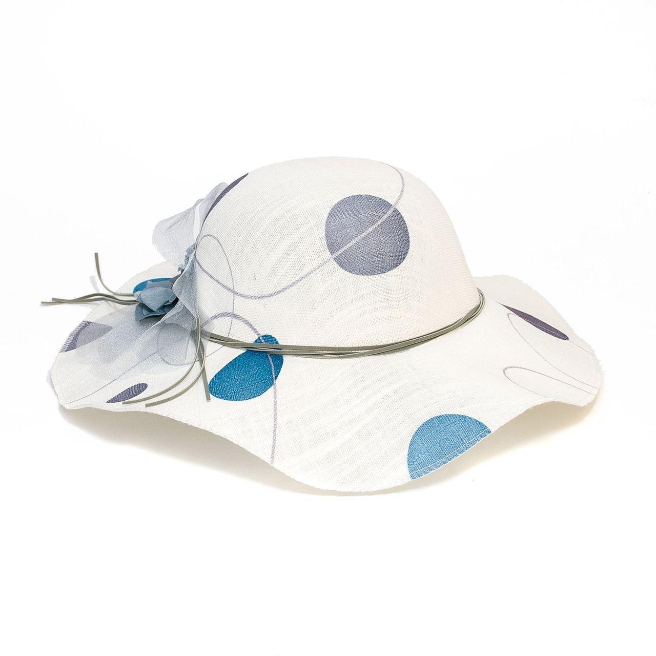 Bílý dámský klobouk letní Assante 161215