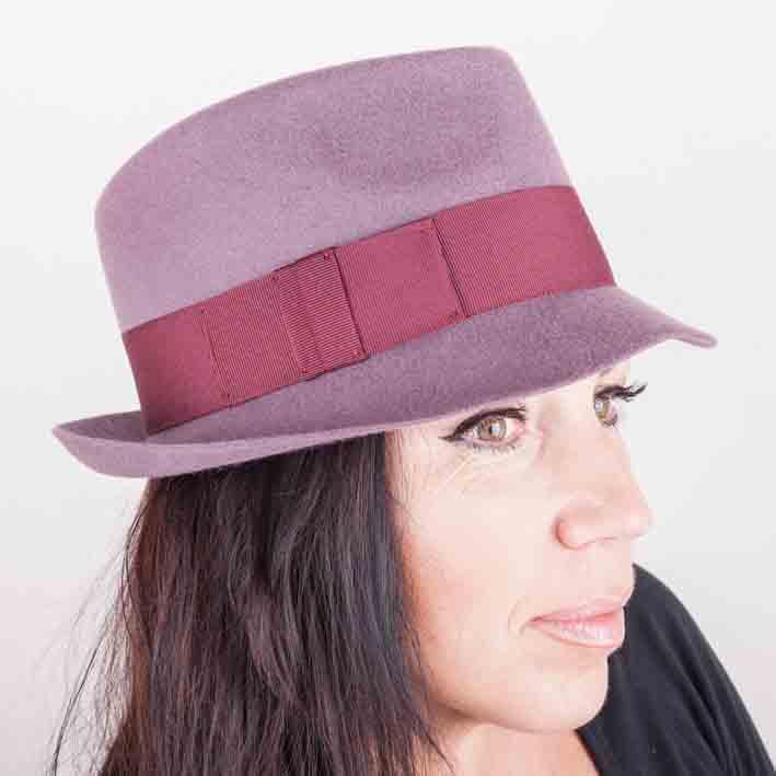 Starorůžový dámský klobouk Assante 86964