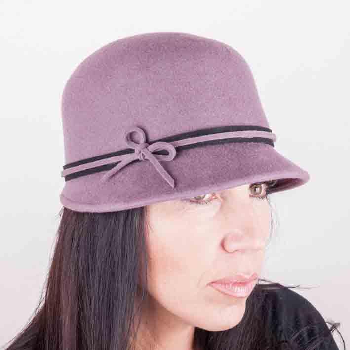 Fialový dámský klobouk Assante 86991