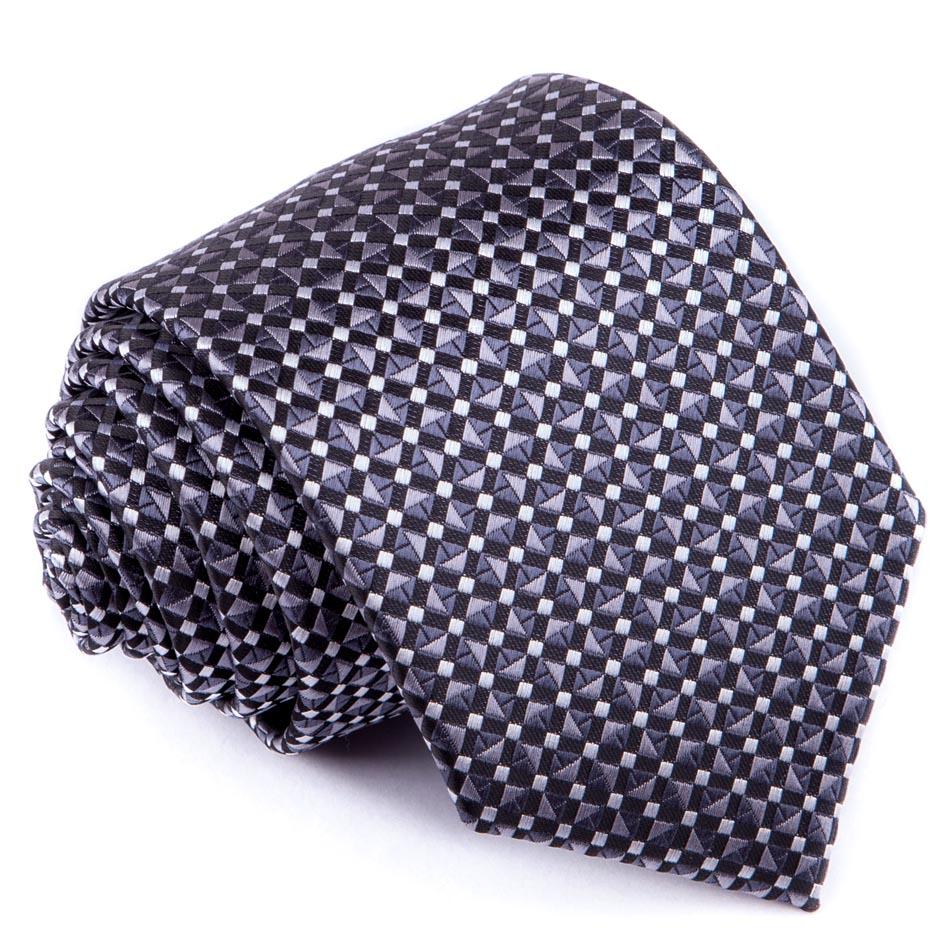 Šedá luxusní kravata Greg 91197