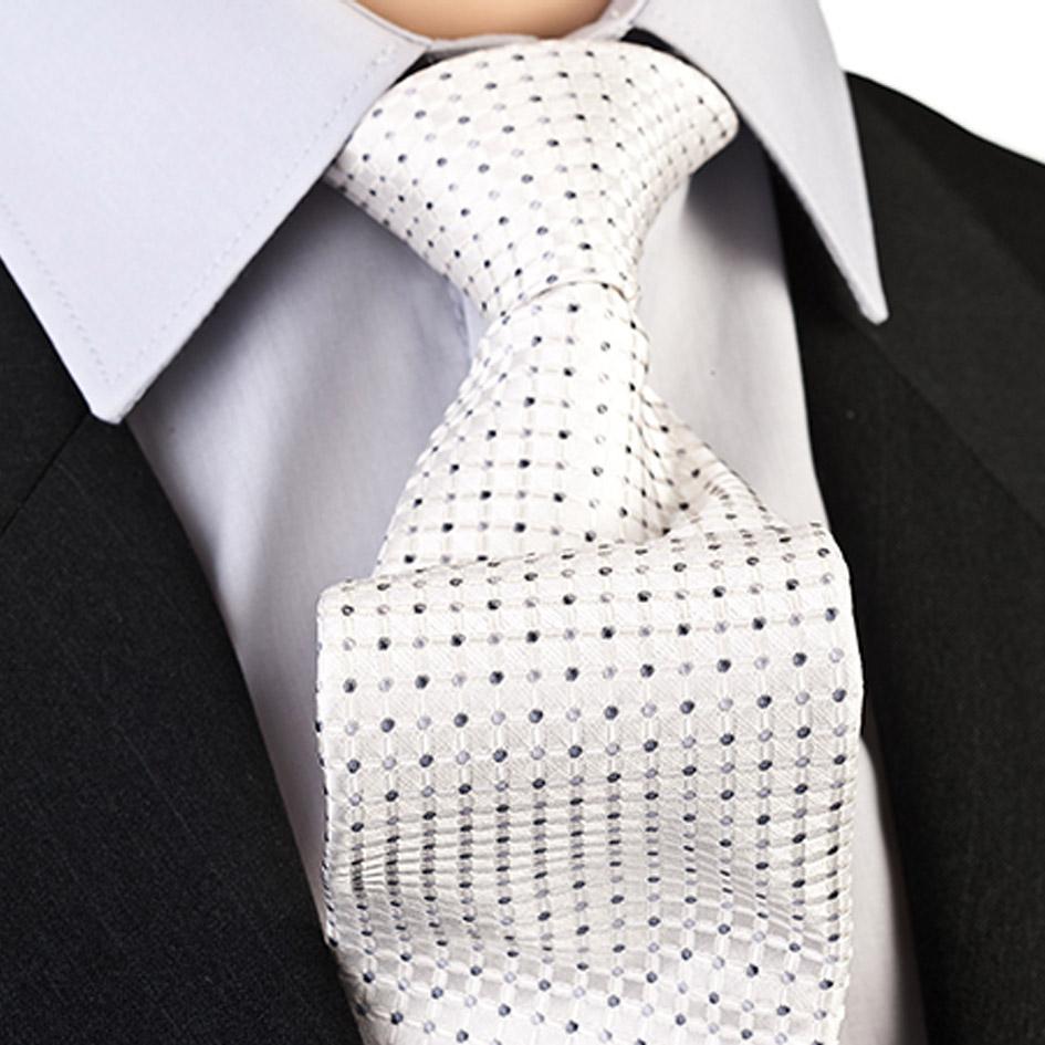 Svatební kravata stříbrnošedá Greg 91205