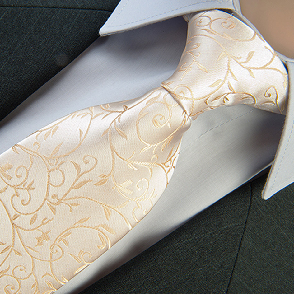 Svatební kravata béžovozlatá Greg 92895