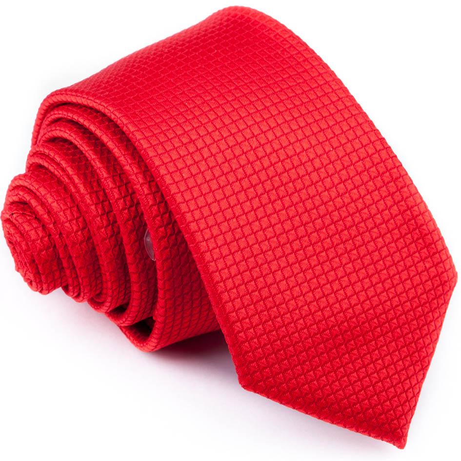Červená slim kravata Greg 93193